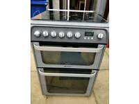 Hotpoint double oven/gas hob