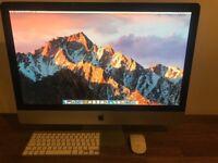 Apple iMac Mid-2011 27 Inch Screen 2.7GHz i5 Quad Core 1TB HDD 12GB RAM £580 ONO
