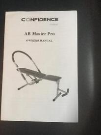 Ab Master Pro bench