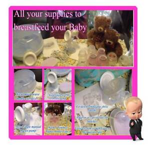 (2) Electric / Manual Breastpumps + Sterilizer and Bottles