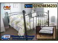 stylish metal bed for sale Y