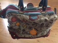 Lowe blue doctor type handbag