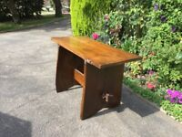 Rustic old English ELM table