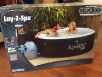 Lay-Z-Spa Miami air jet system hot tub brand new unopened