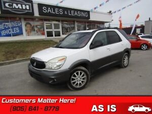 2005 Buick Rendezvous   AS IS *UNCERTIFIED*