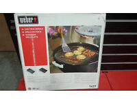 Weber cast iron griddle - brand new in box