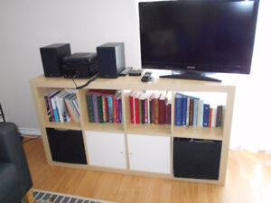 Bookcase Unit with Cupboards