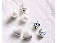 Ladies/Women's Stud Earring Collection Set (NEW)