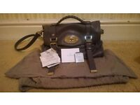 Mulberry Designer Alexa Handbag in Slate Blue