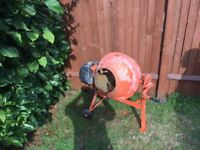 Used electric cement mixer - Magic3org DIY Portable 63 litres