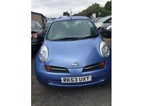 NISSAN MICRA AUTOMATIC, 5 DOORS, LOW MILEAGE, IN EXCELLENT CONDITION