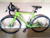 cannondale caadx nearly new only used twice
