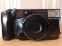 Olympus AZ-200 super zoom 35mm film compact camera