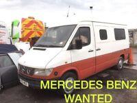Mercedes sprinter 208 d 308 d 211 d 310d 312 d wanted!!!