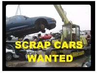 Scrap or mot failure cars, vans, motorbikes