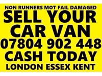 CASH FOR CARS NON RUNNERS SCRAP NO MOT DAMAGED BEST Bm