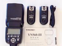 YongNuo YN-560 III Flashgun + RF-603 trigger