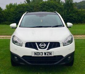 Stunning 2013 Nissan Qashqai in Artic White