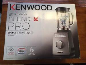 Kenwood Blend-X Pro Glass Blender - Brand New