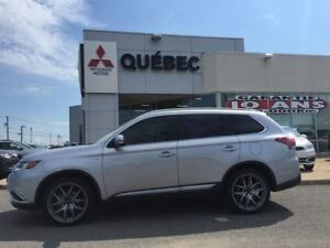 2016 Mitsubishi Outlander GT S-AWD V6 GPS Cuir & Toit 7places