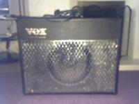 """Vox """"chrome"""" valvetronix AD50VT guitar amp 50 watts"""