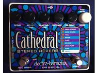 Electro Harmonix Cathedral Stereo Reverb - Guitar Effect Pedal USED