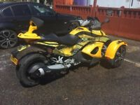 CAN-AM SPYDER. 2008. Excellent condition low mileage for age. Complete with trailer