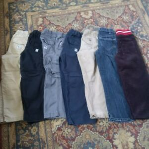 Size 6/7 boys pants (7 pairs) - brand name incl Children's Place