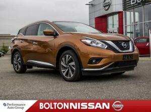 2017 Nissan Murano Platinum|NAVI|Bluetooth|Leather|Panoroof