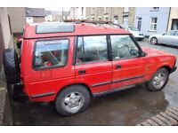 1992 LANDROVER DISCOVERY 1 , no mot spares or repairs