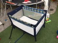 Graco travel cot with mamas & papas mattress