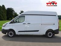 15 FORD TRANSIT CUSTOM 2.2 TDCi 100ps 290 L2 H2 Panel Van DIESEL MANUAL