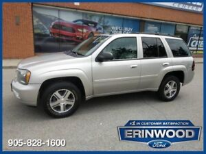 2007 Chevrolet TrailBlazer LSLT 4WD / ROOF / DVD / LTHR / ALLOYS