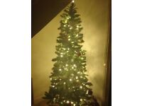 7 foot Christmas Tree with lights