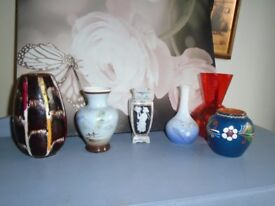 small vases 3 pounds each