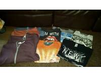 BOYS CLOTHES 10-11YRS MOST NEVER WORN