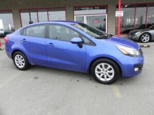 2013 Kia Rio LX Accident Free,  Heated Seats,  Bluetooth,  A/C,