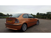 AUTOMATIC BMW 318 COMPACT.PARKING SENSORS.FULL SERVICE HISTORY.EXCELLENT DRIVE. BARGAIN