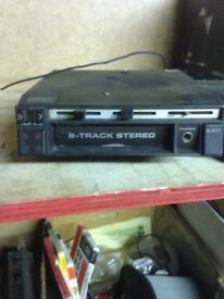 8 track player for car, choice of 2