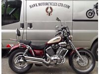 OUTSTANDING CONDITION 1999 YAMAHA XVS535 DX VIRAGO WITH 11770 MILES