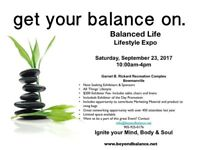 Beyond Balance Lifestyle Expo!