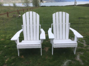 ADIRONDACK CHAIR with Foot Rests