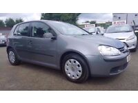 VW GOLF 1.6 FSI S 6 SPEED 5 DOOR 2006 / FULL SERVICE HISTORY / HPI CLEAR / EXCELLENT CONDITION