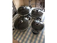 Non Stick Aluminium Cooking Pot Set