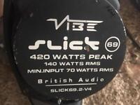 Vibe 6x9 speakers 420watts