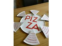 Large Pizza serving plate