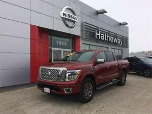 2017 Nissan Titan Platinum ** WOW SAVE UP TO 21,186$****