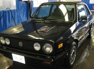 1991 Volkswagen Golf Convertible