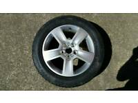 Audi a4 brand new alloy and tyre