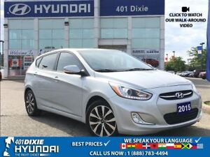 2015 Hyundai Accent SE LOW KMS!!  MANUAL ALLOYS HEATED SEATS